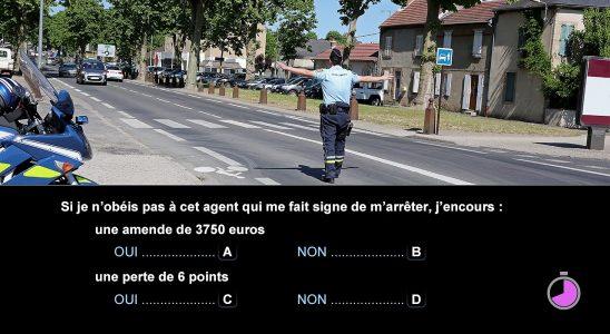 Candidat libre en examen du code de la route